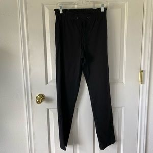 Theory Black Drawstring Pants / Size 2